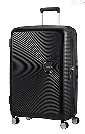 AMERICAN TOURISTER Soundbox Spinner  Expandable Equipaje de mano cm liters Negro