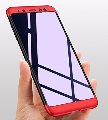 Telephone 5 Noir en 3 2018 Scratch A8 Etui 6