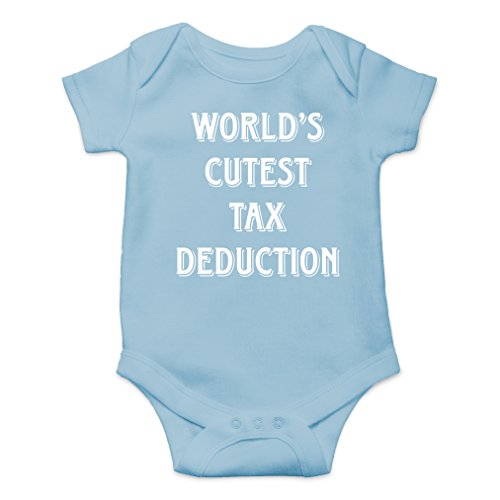 AW Fashions World's Cutest Tax Deduction Cute Novelty Funny