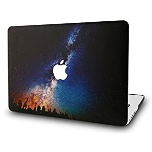 "KEC MacBook Pro 13"" Retina Case (2015) Cover Plastic Hard Shell Rubberized A1502 / A1425 (Night Sky)"
