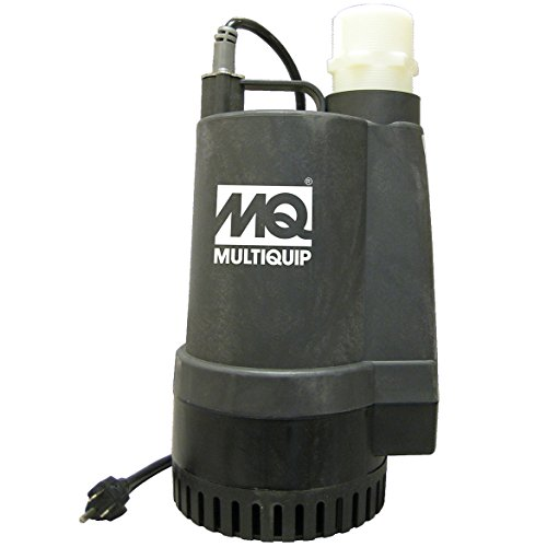 Multiquip SS233 Electric Submersible Centrifugal Pump with Single Phase Motor, 1/2 HP, 60 GPM, 2