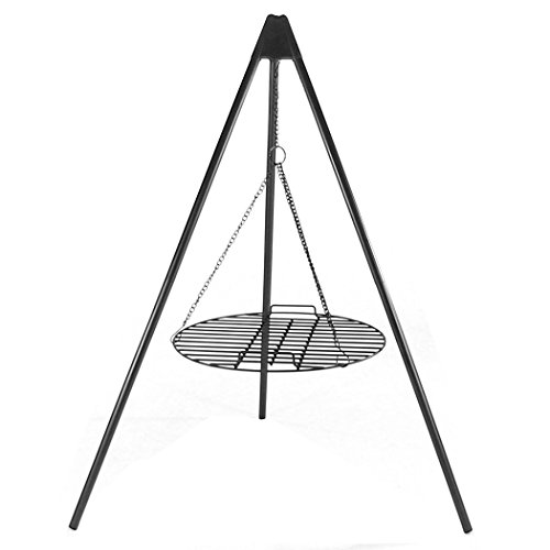 Sunnydaze Tripod Grilling Set with Cooking Grate