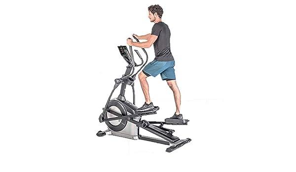 YXRPK Elíptica Máquina Ejercicios Fitness Cross Trainer Bicicleta ...