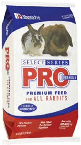 Manna Pro Select Series Pro Formula Rabbit Feed, 50# Bag by Manna Pro