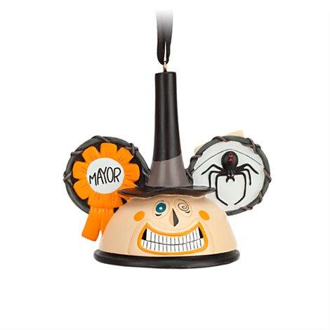 Mayor Ear Hat Disney Ornament-Nightmare Before Christmas (Ornament Nightmare Before Christmas Mayor)