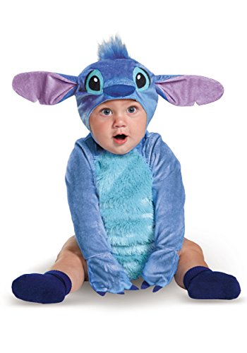[Disney Baby Stitch Infant Costume, Blue, 12 to 18 Months] (Licensed Disney Mascot Costumes)