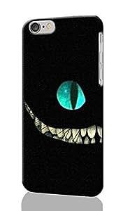 "SUUER Cheshire Cat Alice in Wonderlan iPhone 6 - 5.5 inches Plus Case , Designer Personalized Custom Plastic Hard CASE for iPhone 6 Plus (5.5"") Durable New Style Rough Skin 3D Case Cover"