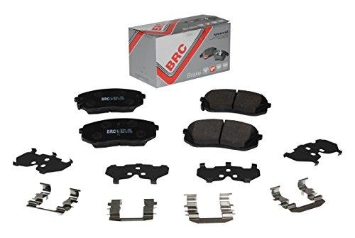 BRC CAR SERVICE brk1b01 Kit Front Disc Brake Pads: