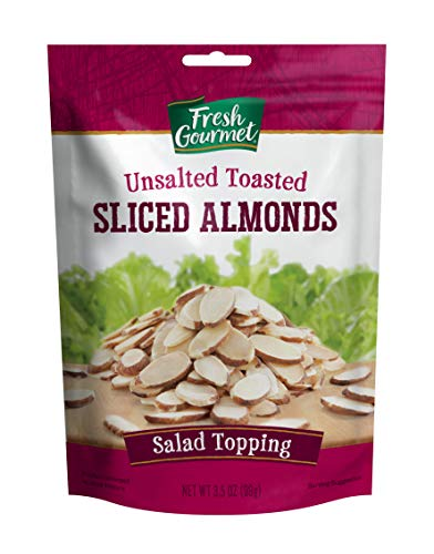 (Fresh Gourmet Sliced Almonds, Toasted, 3.5 Ounce (Pack of 9))