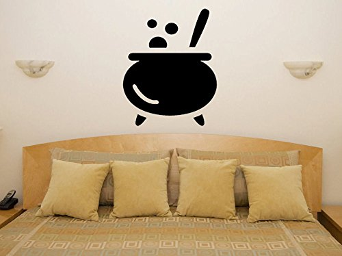 43SabrinaGill Halloween Cartoon Cauldron Wall Decal Funny Humour Sexy Naughty Van Motorbike Boat Wall Sticker 22