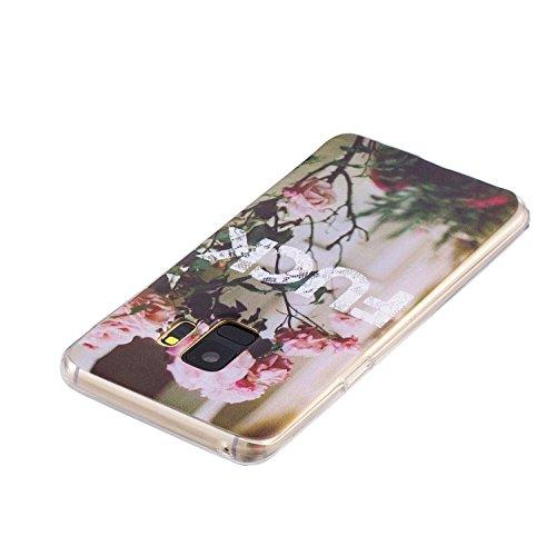 Cover para Samsung Galaxy S9 Plus ( No coincide Samsung Galaxy S9 ) , WenJie Transparente Accesorios Regalo TPU Regalo elegante y duradero suave Silicona Suave Funda Case Tapa Caso Parachoques Carcasa