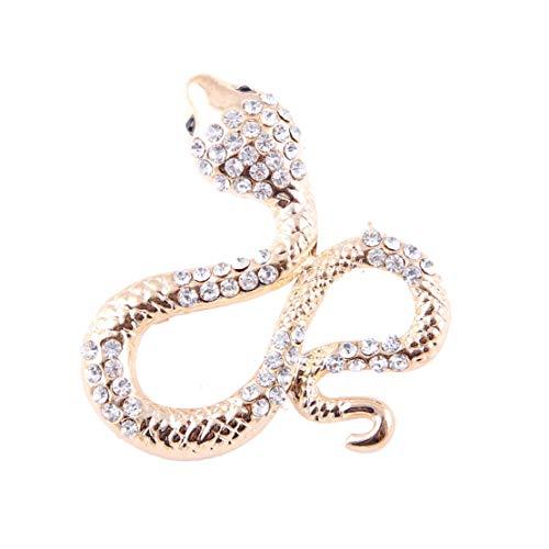 Fiona Jolin Enamel Python Snake Brooch Pin (Multicolor-I)