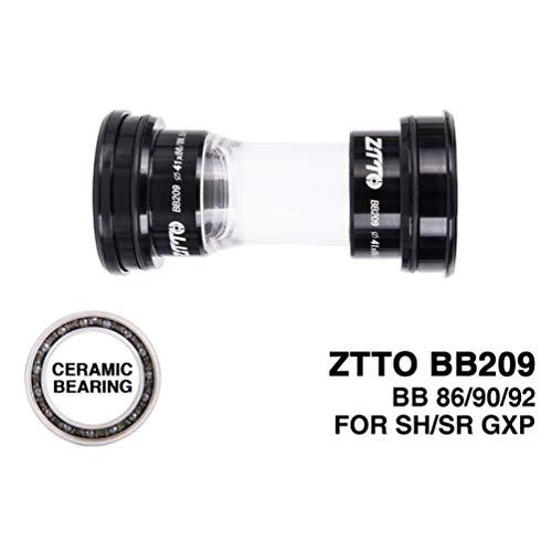 Ceramic Bearing BB209 BB92 BB90 BB86 Press Fit Bottom Brackets for Road Mountain Bike 24mm Crankset BB GXP 22mm Chainset - Crankset Road Cranks