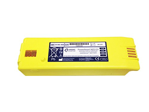 Intellisense Battery for Powerheart G3 AED Part No. 9146-302 by Cardiac Science