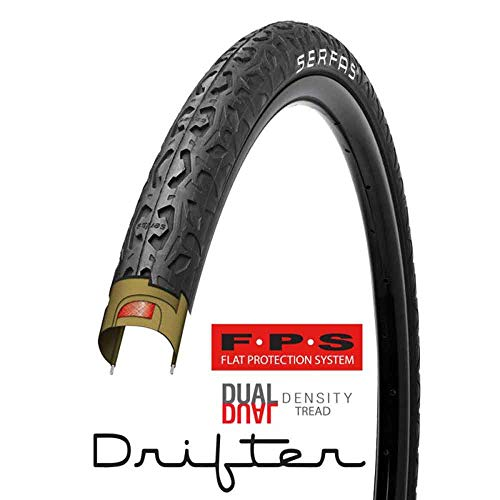 Serfas Drifter Tire with FPS, 26 X 2.0-Inch