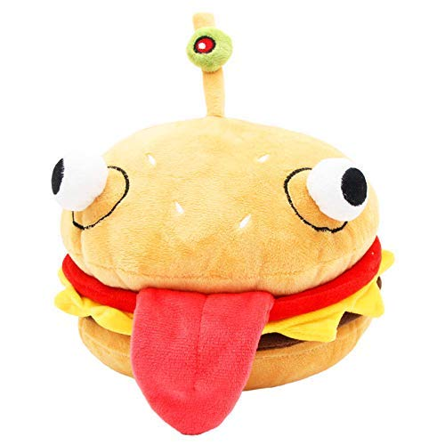 Hamburger Plush - SYUSAMA Battle Game Durr Burger Plush Figure Hamburger Stuffed Doll 10 Inch
