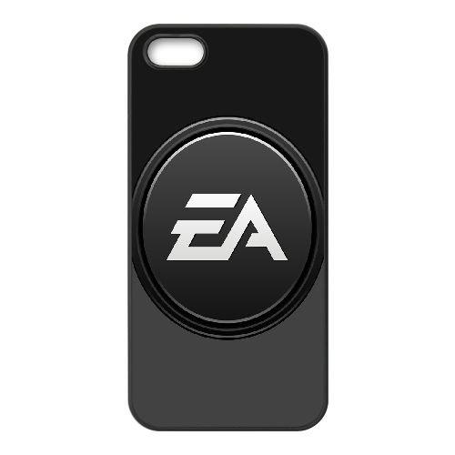 Ea Games 3 coque iPhone 5 5S Housse téléphone Noir de couverture de cas coque EOKXLLNCD18006