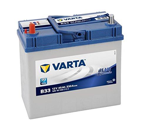 Varta 5451570333132 Autobatterien Blue Dynamic B33 12 V 45 mAh 330 A 95016425