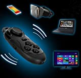 Jayang-ro shop Wireless Bluetooth Controller Gamepad Joypad for Gear VR Glasses