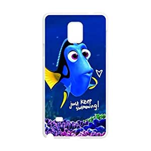 Turtle Rock blue lovely fish Cell Phone Samsung Galaxy Note4