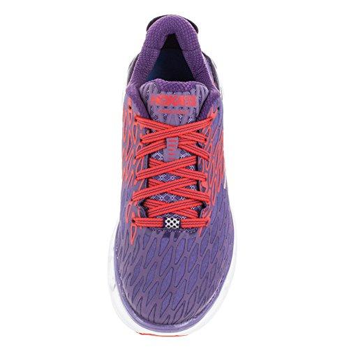 Hoka One One Womens Vanquish 2 Road Running Shoe,Corsican Blue/Poppy Red,US 11 by Hoka One (Image #2)