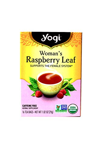 Yogi Tea Woman's Herbal Tea , Raspberry Leaf 16 bags