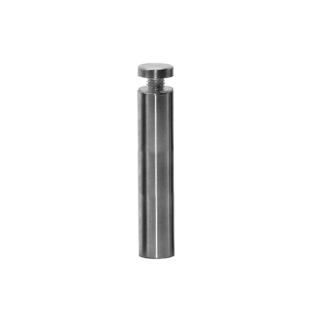 Abstandshalter Schilderbefestigung /Ø 1,9cm Schraubbar Wandabstandshalter Edelstahl Rund Glashalter Acrylglas Schilder 5 cm Modell:1 St/ück