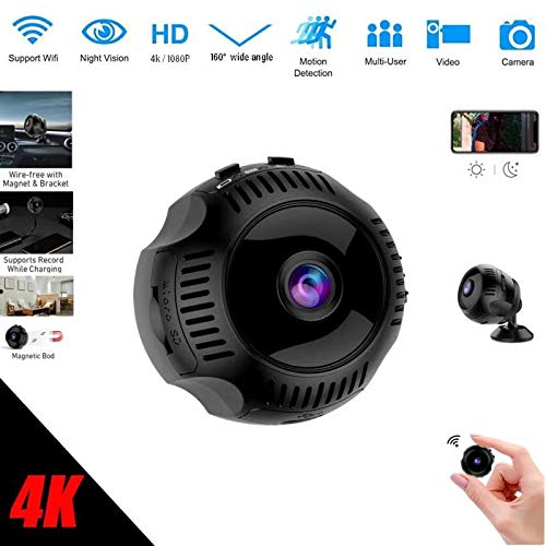 TTAS Spy Camera Wireless, Mini Hidden Security Camera 1080P Netvue Home Camera Newest Wireless WiFi HD Strong Magnetic with Night Vision and Motion Detective Pet Monitor, Baby Camera
