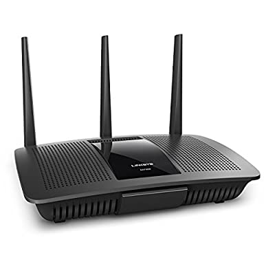 Linksys AC1750 - Dual-Band Smart Wireless Router with MU-MIMO (Max Stream EA7300) - Works with Amazon Alexa (Certified Refurbished) from Linksys