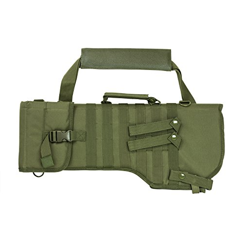 Ar 15 M16 M4 Carbine (Ultimate Arms Gear Tactical OD Olive Drab Green Ambidextrous Molle AR15 AR-15 M4 M16 Rifle Scabbard Soft Protective Carry Case)