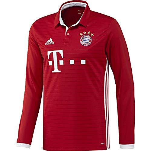(adidas FC Bayern Munich Home Long Sleeve Jersey (S))
