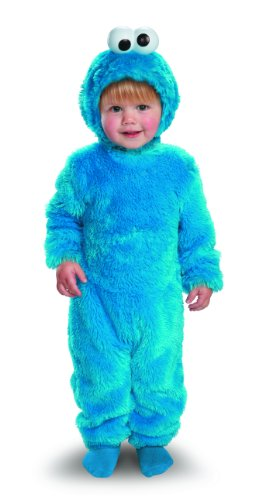 Cookie Monster And Cookie Costume (Sesame Street Light Up Cookie Monster Toddler Costume, 2T)