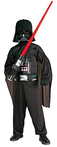Scary Darth Vader Kids Costumes (Darth Vader Kids Costume - Large)