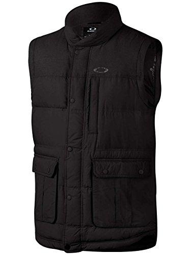 Oakley Men's Drifter Down Vest, Medium, Jet Black