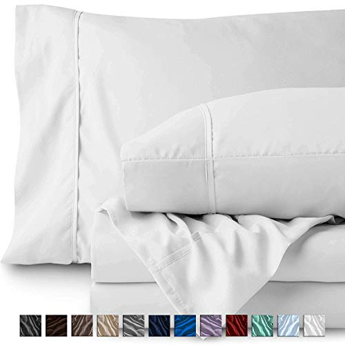 RRlinen 5PCs Bed Sheet Set Duvet Cover and Pillowcase 100% Cotton 800 Thread Count Long Staple Fits Mattress 14