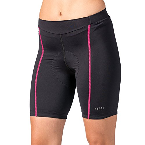 Terry Women's Bella Short - Black/Pink - Medium by Terry