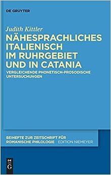Descargar Libros En Gratis N Hesprachliches Italienisch Im Ruhrgebiet Und In Catania Libro PDF