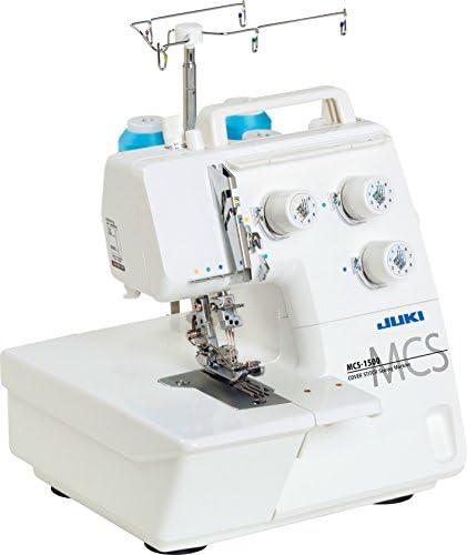 JUKI MCS-1500 - Cubreadora 2/3 Agujas, Metal, Blanco, 28 x 33,5 x ...