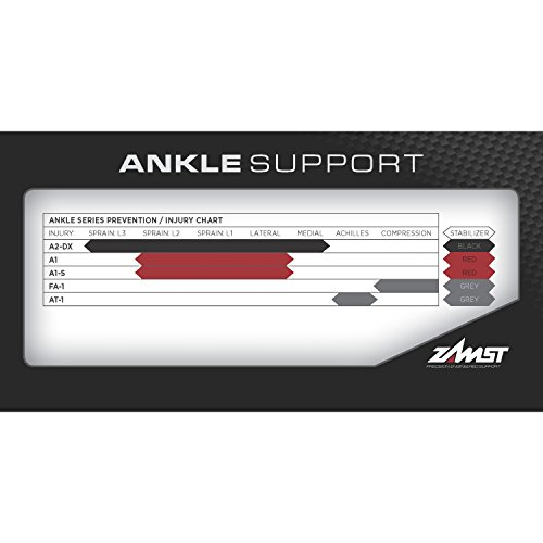 Zamst A1 Right Ankle Brace, Black, Medium by Zamst (Image #7)