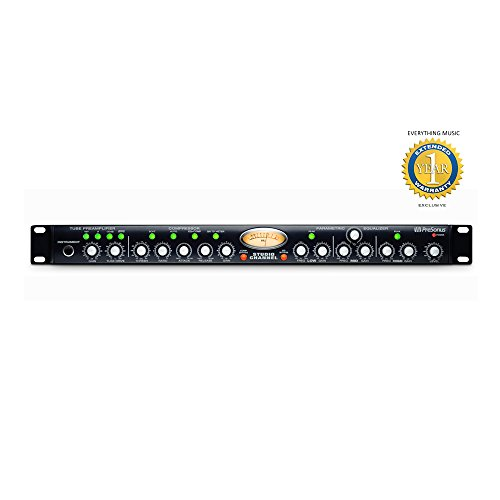 Tube Eureka - PreSonus Studio Channel 1-Channel Vacuum-Tube Channel Strip with 1 Year EverythingMusic Extended Warranty Free