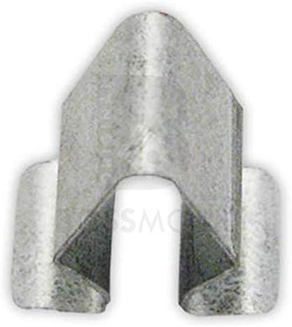 3 St/ück Original BOSSMOBIL kompatibel mit VERKLEIDUNGS BEFESTIGUNGSKLAMMER CLIP HALTER BLECHMUTTER 4A0867276B 0009840760 UNIVERSAL #NEU# 15 X 9 X 8 mm Menge