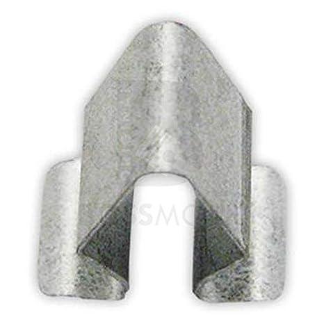 Original BOSSMOBIL kompatibel mit VERKLEIDUNGS BEFESTIGUNGSKLAMMER CLIP HALTER BLECHMUTTER 4A0867276B 0009840760 UNIVERSAL #NEU# 15 X 9 X 8 mm Menge 10 St/ück