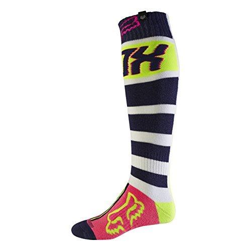 Fox 2017 Herren Motocross / MTB Socken - FRI FALCON THICK - navy-weiß: Größe Socken: L