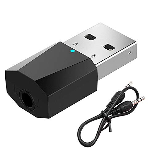 SODIAL USB Bluetooth 4.2 Stereo Audio Transmitter 3.5mm Audi