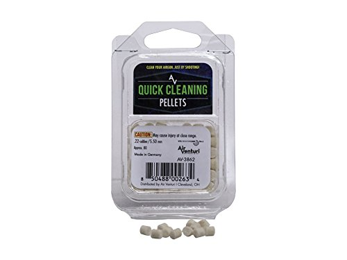 Cleaning Pellets - Air Venturi .22 Caliber Quick Cleaning Pellets, 80 Count
