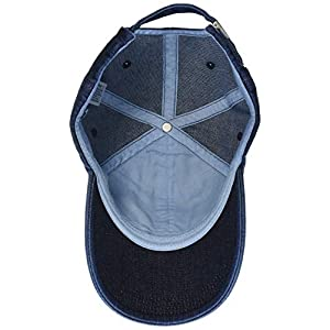 Calvin Klein Women's J Monogram Cap W Baseball, Blue (Denim 910), (Size: OS)
