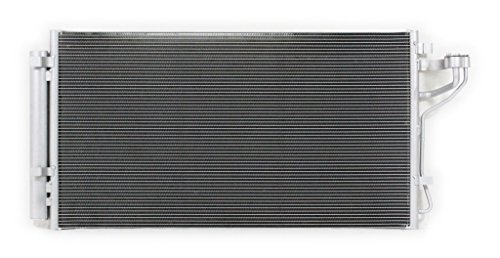A-C Condenser - Pacific Best Inc For/Fit 3983 11-15 Kia Optima Hybrid 11-15 Sonata Hybrid w/Receiver & Drier