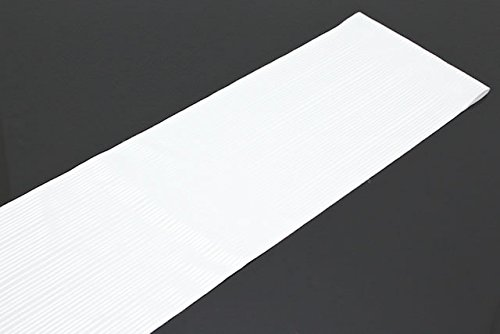 半衿 白 ホワイト 縞 ボーダー ストライプ
