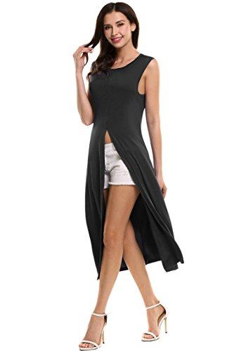 high side splits maxi long dress - 8