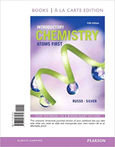 Introductory Chemistry: Atoms First, Books a la Carte Edition (5th